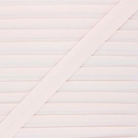20 mm organic bias binding - dragee pink x 1m