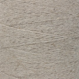 Food contact approved 1mm linen twine - linen color