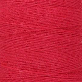 Food contact approved 1mm linen twine - red