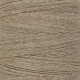 Food contact approved 1mm smooth flax string - linen color