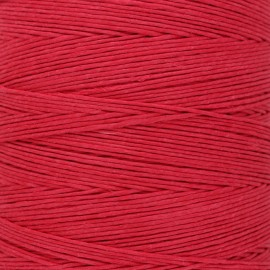 Food contact approved 1mm smooth flax string - red