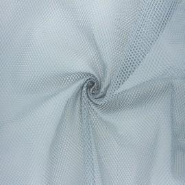 Polyester mesh fabric - light grey x 10cm