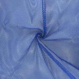 Polyester mesh fabric - navy blue x 10cm