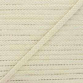 13mm braided ribbon - cream Trenza x 1m