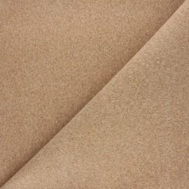 Cork fabric - natural Lima x 10cm