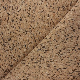 Cork fabric - natural Tavira x 10cm