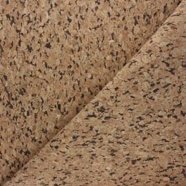 Tissu liège Tavira - naturel x 10cm