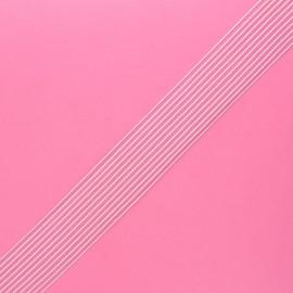 Élastique à smock - blanc x 1m