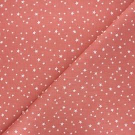Tissu coton cretonne Atria - marsala x 10cm