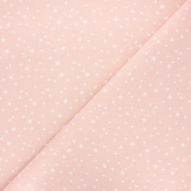 Cretonne cotton fabric - blush Atria x 10cm