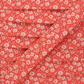 Sangle polyester Floralia 30 mm - rouge x 1m