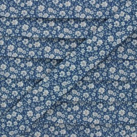 Sangle polyester Floralia 30 mm - bleu x 1m