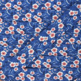 Sangle polyester Florentine 30 mm - bleu x 1m