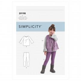 Patron ensemble Enfant - Simplicity n°S9198