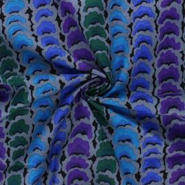 Kaffe Fassett cotton poplin fabric - mouse grey Garlands x 10cm