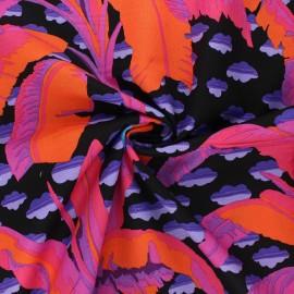 Kaffe Fassett cotton poplin fabric - orange Banana tree x 10cm