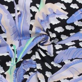 Kaffe Fassett cotton poplin fabric - black Banana tree x 10cm