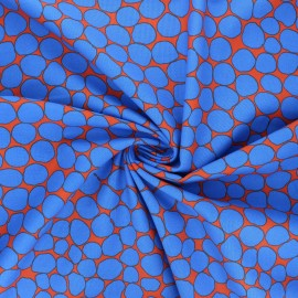 Kaffe Fassett cotton poplin fabric - orange Jumble x 10cm