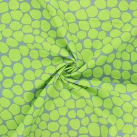 Tissu popeline de coton Kaffe Fassett Jumble - vert clair x 10cm