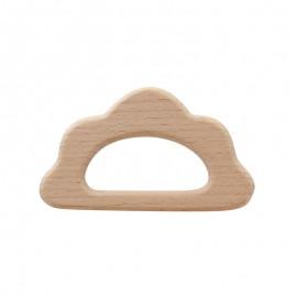 Anneau de dentition bois naturel Baby - Nuage