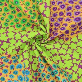 Tissu popeline de coton Kaffe Fassett Hydrangea - vert clair x 10cm