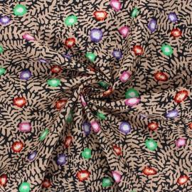 Kaffe Fassett cotton poplin fabric - sand Moss flower x 10cm