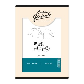 Pullover sewing pattern Couture Générale - Maille petit pull