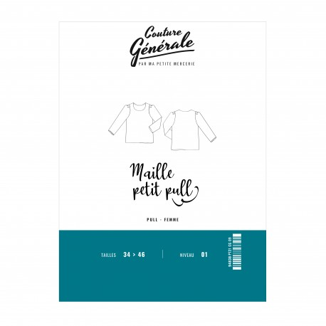 Pullover sewing pattern Couture Générale - Maille petit pull (PDF)