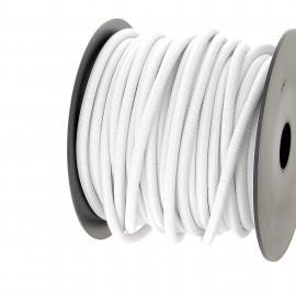Cordon extérieur 6 mm - blanc - bobine 25 m