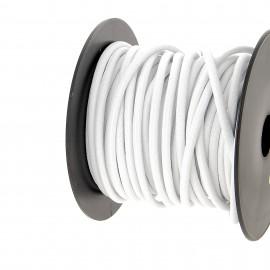 Cordon extérieur 5.2 mm - blanc - bobine 25 m