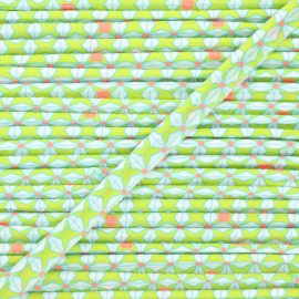 Petit Pan Cotton Piping - lime green Helium x 1m