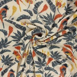 Jersey bamboo fabric - sand Amazone x 10cm