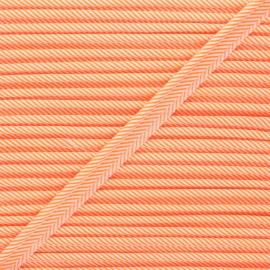 Passepoil Petit Pan Rigato - orange fluo x 1m