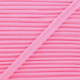Passepoil Petit Pan Rigato - rose fluo x 1m