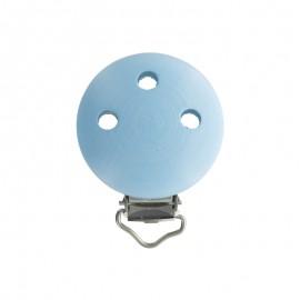 Wood dummy clip - sky blue