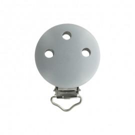 Wood dummy clip - light grey