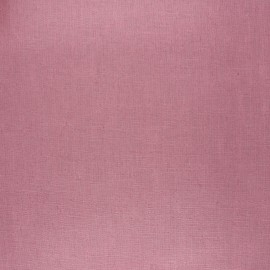 Coated washed linen fabric - old pink x 10cm