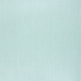 Coated washed linen fabric - almond green x 10cm