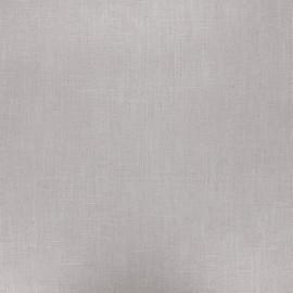 Tissu lin lavé enduit - taupe clair x 10cm