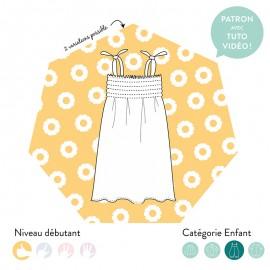 Dress/top sewing pattern - Les Patronnes Porquerolles