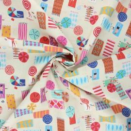 Cotton Dashwood Studio fabric - Sunbath Lazy days x 10cm