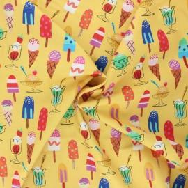 Cotton Dashwood Studio fabric - Icecream Lazy days x 10cm