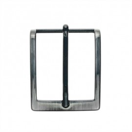 Boucle ceinture métal Fibb 40 mm - nickel noir