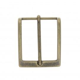 40 mm Metal belt buckle – bronze Fibb