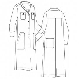 Dress Sewing Pattern - Pauline Alice Calvari