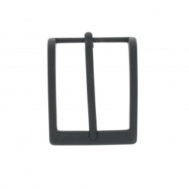 35 mm Metal belt buckle – black Fibb