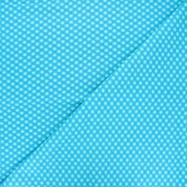 Petit Pan cotton fabric - Aruba blue Bubble x 10cm