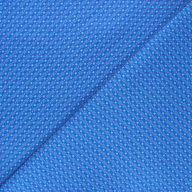 Tissu coton Petit Pan Chifoumi - bleu marine x 10cm