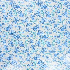 Tissu coton enduit Petit Pan Hanako - ivoire x 10cm