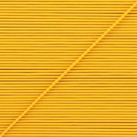 Cordon élastique rond 1,9 mm - jaune x 1m